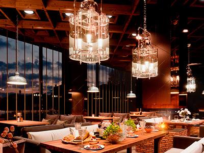 Освещение для ресторанов